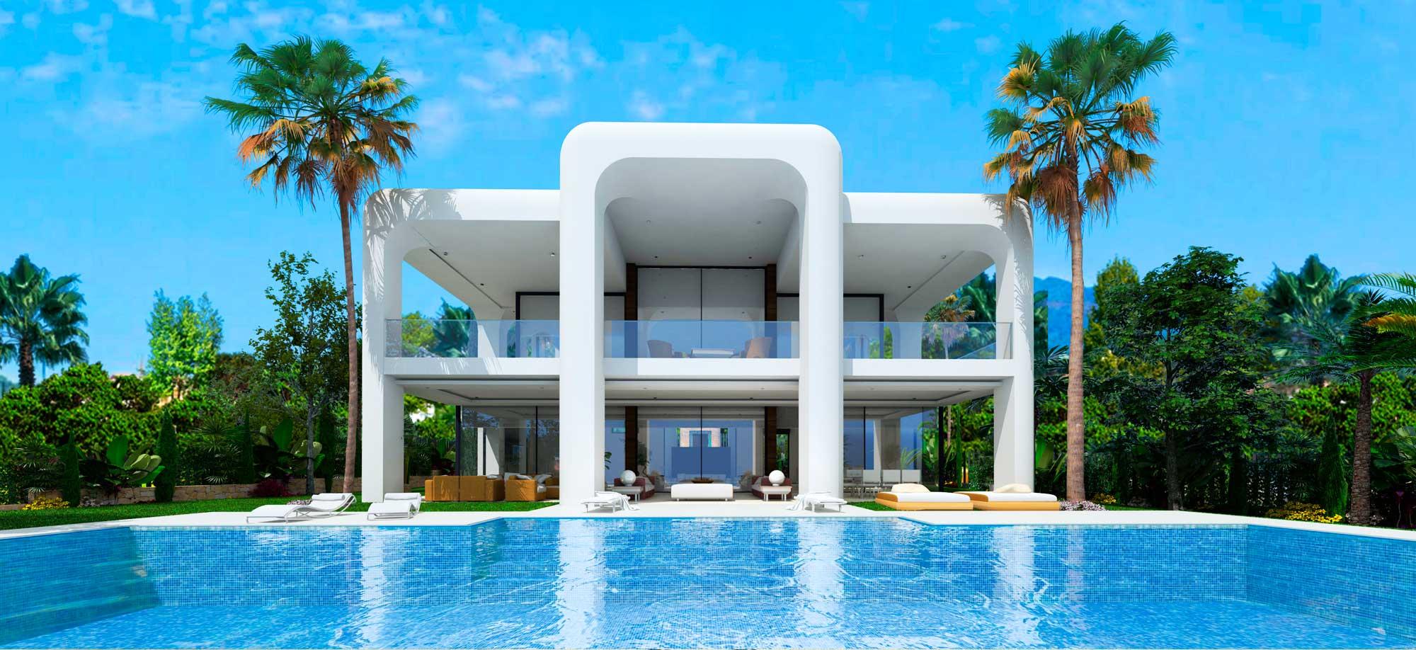 Casa de lujo en marbella imagen del dormitorio del piso - Casas de lujo en marbella ...